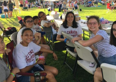 music in the park fundraising